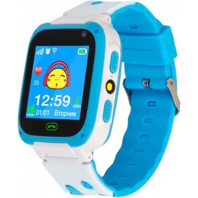 Смарт-часы ATRIX iQ2300 IPS Cam Flash Blue Детские телефон-часы с трекером (iQ2300 Blue)