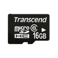 Карта пам'яті Transcend 16Gb microSDHC class 4 (TS16GUSDC4)