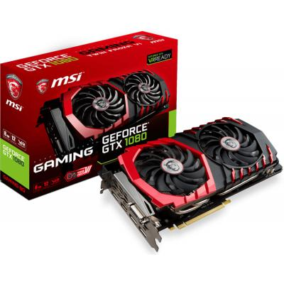 Видеокарта MSI GeForce GTX1080 8192Mb GAMING (GTX 1080 GAMING 8G)