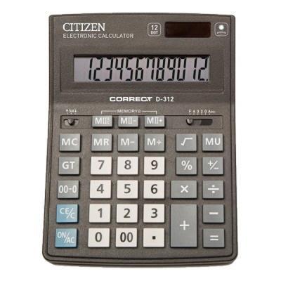 Калькулятор Citizen D-312