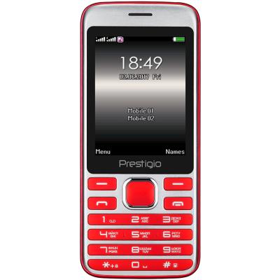 Мобильный телефон PRESTIGIO 1281 Duo Red (PFP1281DUORED)