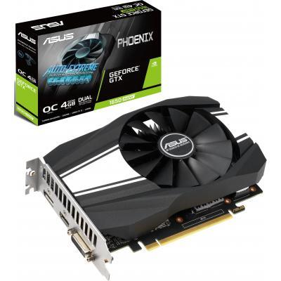 Видеокарта ASUS GeForce GTX1650 SUPER 4096Mb PHOENIX OC (PH-GTX1650S-O4G)
