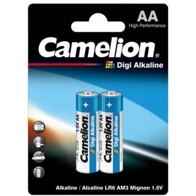 Батарейка Camelion AA LR6 Digi Alkaline * 2 (LR6-BP2DG)