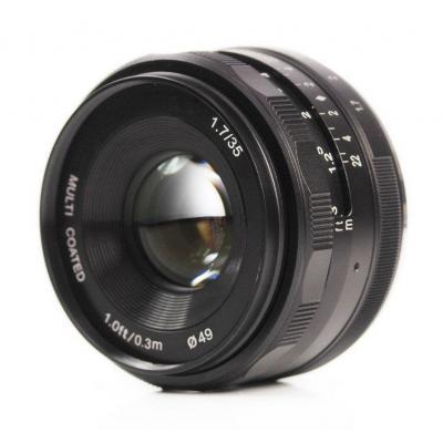 Объектив Meike 35mm f/1.7 MC FX-mount для Fujifilm (MKEF2817)