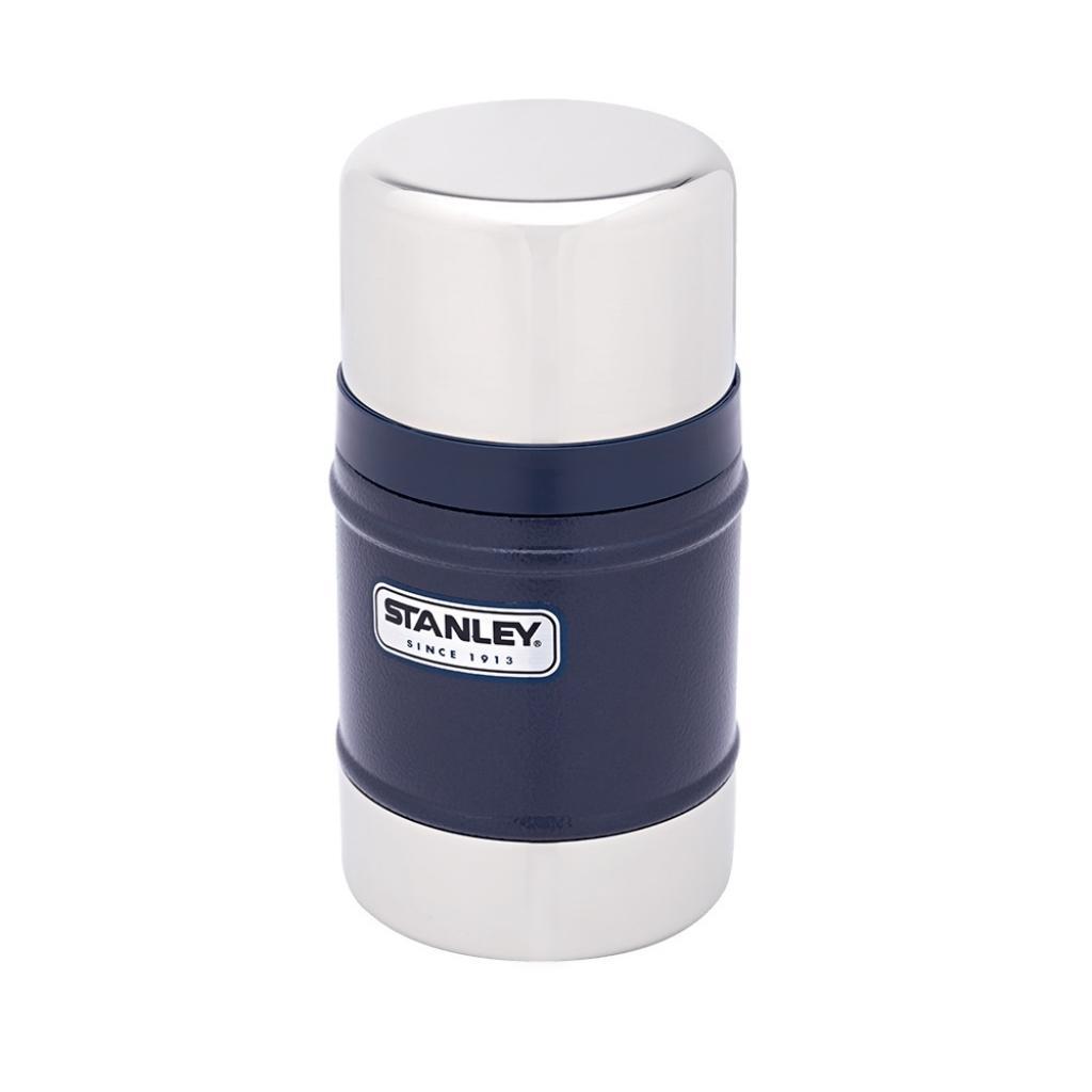 Термос Stanley Classic 0.5 Л Темно-синий new (6939236320092)