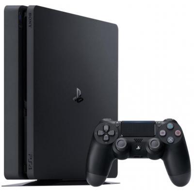 Игровая консоль SONY PlayStation 4 Slim 500 Gb Black (HZD+GTS+UC4+PSPlus 3М) (9779117)