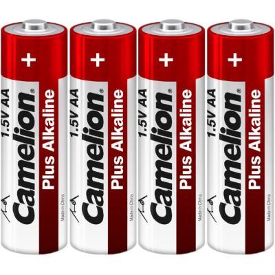 Батарейка Camelion AA LR6 Plus Alkaline (Shrink) * 4 (LR6-SP4)