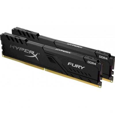 Модуль пам'яті для комп'ютера DDR4 64GB (2x32GB) 3600 MHz Fury Black Kingston (HX436C18FB3K2/64)
