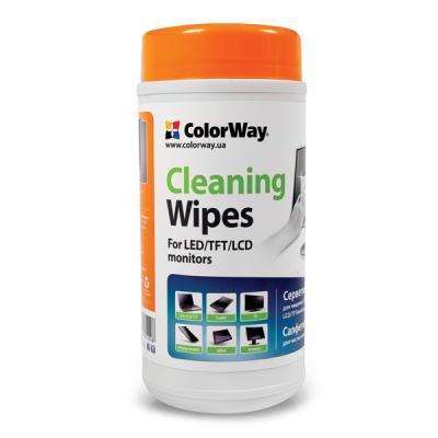 Салфетки ColorWay для LCD/TFT tub-100pcs (CW-1071)