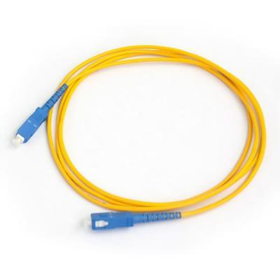 Оптический патчкорд ADTEK SC/UPC-SC/UPC SingleMode, Simplex, 2m (UPC-2SCSC(SM)S(ON))
