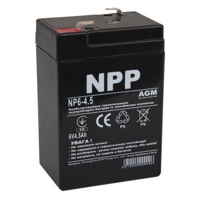 Батарея к ИБП NPP 6В 4.5 Ач (NP6-4.5)