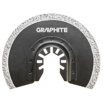 Насадка GRAPHITE полукруг к многофункциональному инструменту HM - по керамике (56H004)