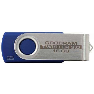 USB флеш накопитель GOODRAM 16GB Twister Blue USB 2.0 (UTS2-0160B0R11)