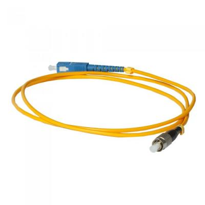 Оптический патчкорд Corning SC/UPC-FC/UPC MM (OM3) 1м Simplex (SC/UPC-FC/UPC MM)