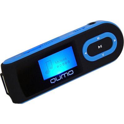 mp3 плеер Qumo QUMO Connect 4GB Blue (QUMO CONNECT 4GB black+blue)