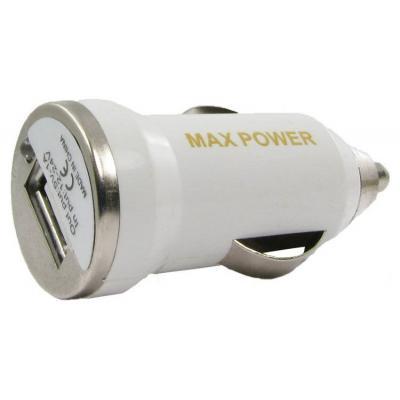 Зарядное устройство MaxPower Mini 1A White (33840)