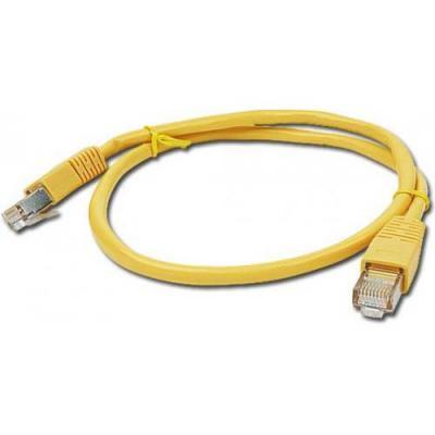 Патч-корд 0.25м Cablexpert (PP12-0.25M/Y)