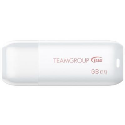 USB флеш накопитель Team 16GB C173 Pearl White USB 2.0 (TC17316GW01)