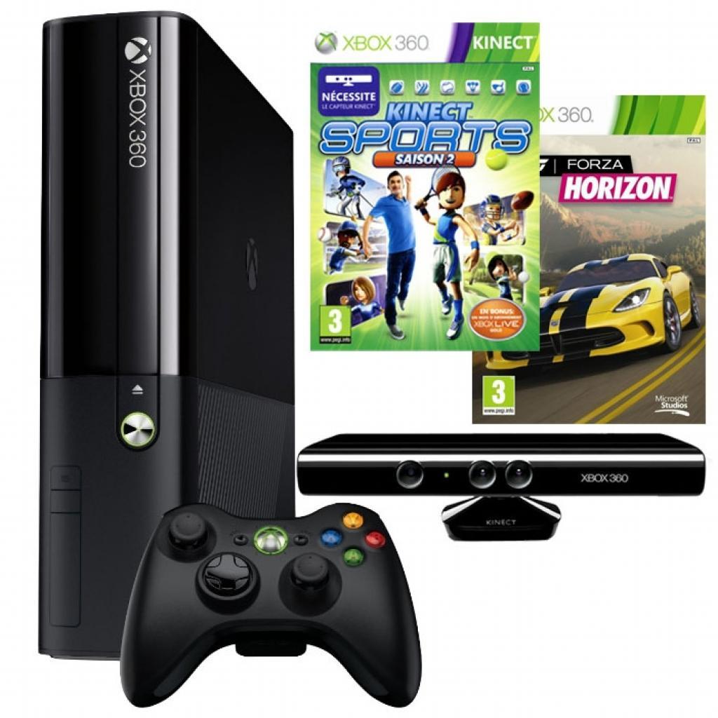 Игровая консоль Microsoft X-Box SLIM 250GB+ Kinect + Forza Horizon (BUNDLE/KS2/FH/1M LIVE)