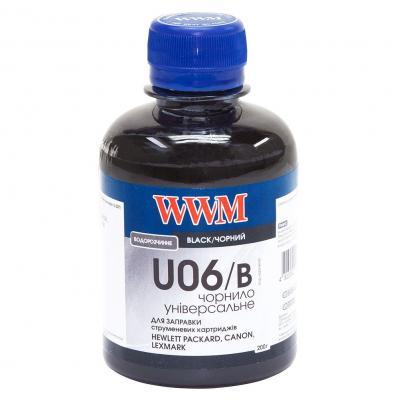 Чернила WWM Universal Canon/HP/Lexmark/Xerox Black (U06/B)