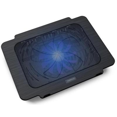 Подставка для ноутбука OMEGA Laptop Cooler pad BREEZE black fan USB (OMNCPK16)