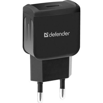 Зарядное устройство Defender EPA-02 black, 1 USB, 5V / 1A (83838)