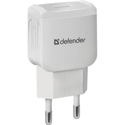 Зарядное устройство Defender EPA-02 white, 1 USB, 5V / 1A (83839)