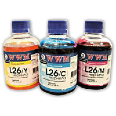 Чернила WWM Lexmark 26/27(10N0026/0227)Magenta (L26/M)