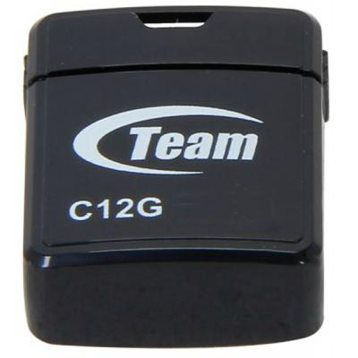 USB флеш накопитель Team 16GB C12G Black USB 2.0 (TC12G16GB01)
