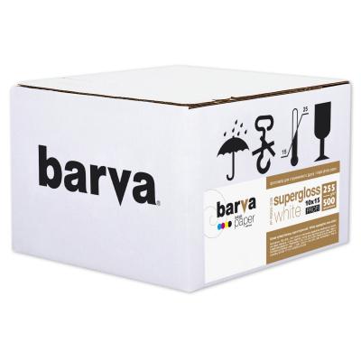 Бумага BARVA 10x15 PROFI 255 г/м2 500с White supergloss (IP-R255-338). Купить в Днепропетровске. Расходные материалы. Бумага для принтеров. Компьютерная и офисная техника. Купить в интернет-магазине Spike. Днепр.