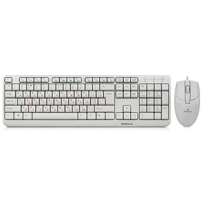 Комплект REAL-EL Standard 505 Kit, USB, white