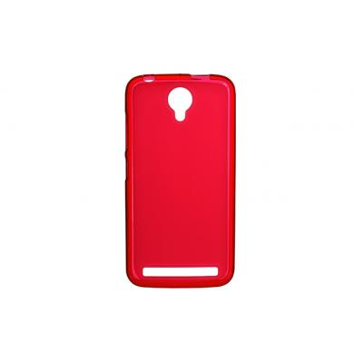 Чехол для моб. телефона для Fly IQ4410i (Red Clear) Elastic PU Drobak (214745)