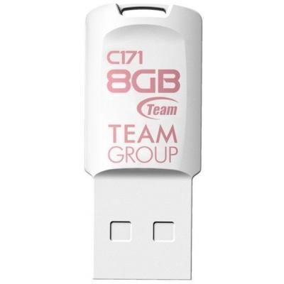USB флеш накопитель Team 8GB C171 White USB 2.0 (TC1718GW01)