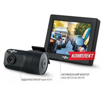 Видеорегистратор Gazer H714 + MC135